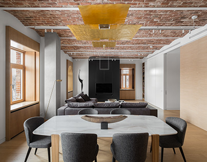 flat in moscow _ STUDIOPLAN