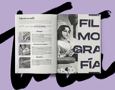 """_ Tita Merello: """"Cultura al Palo"""" Magazine"""