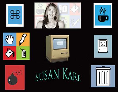 Susan Kare Collage