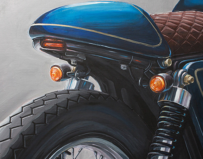 Acrylic Motorcycles