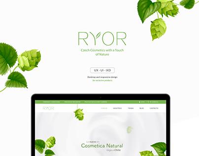 RYOR · UI / UX / IXD