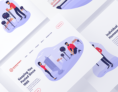 Illustrations for the Website