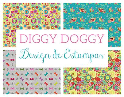 [Estampa] Coleção de Estampas DIGGY DOGGY 2017
