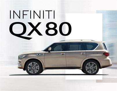 INFINITI QX80 | Promo site