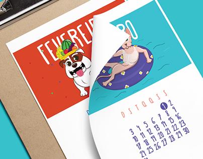Neon Pet Shop   2016 Calendar