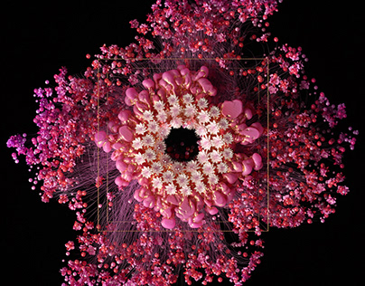 Hanami 2050 - Digital Flower Installation