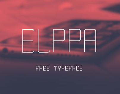 Elppa - Free Font