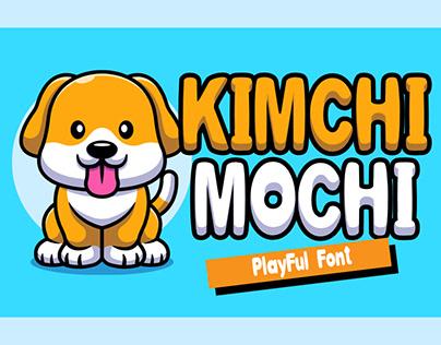 FREE FONT | Kimchi Mochi Display FONT