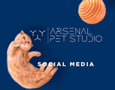 Arsenal Pet Shop | Social Media