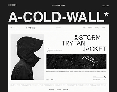 A-COLD-WALL* / Online Store