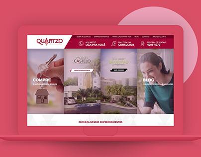 Quartzo Incorporadora // Website