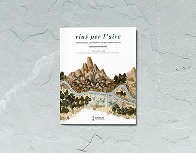 Diseño y maquetación editorial Rius per l'aire