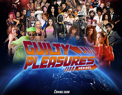 Guilty Pleasures Poster Designs - 2017-2020