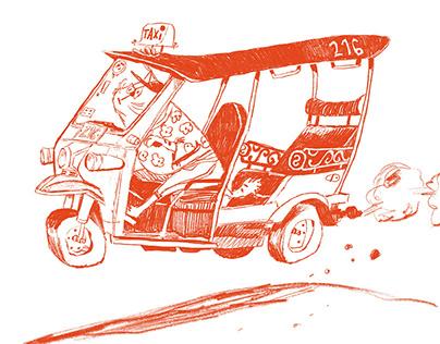 Thailand Sketches