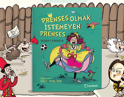 Prenses Olmak İstemeyen Prenses - Picture Book