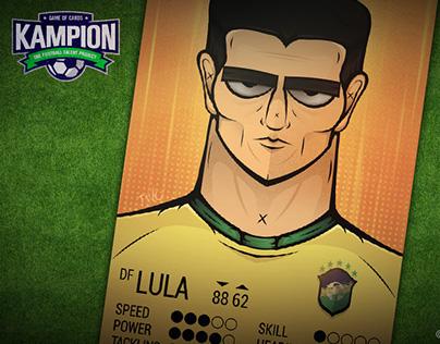 LULA | Kampion Card Game