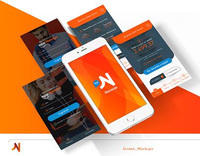 Tarjeta NARANJA   Diseñador UI » Ejercicio App [UX/UI]