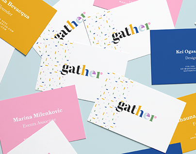 Gather – Brand Identity & Web Experience