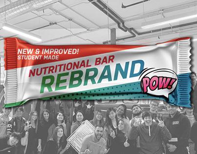 Nutritional Bar Rebrand - Student Work