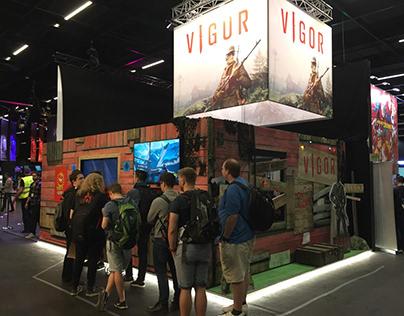 Vigor Gamescom Booth