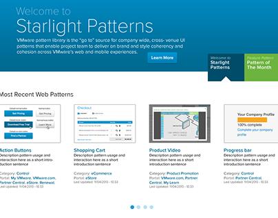 VMware UI Patterns Library