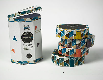 Giving 'Rich Teas' a new branding and a new packaging.