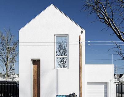 Minimalist house in Japan