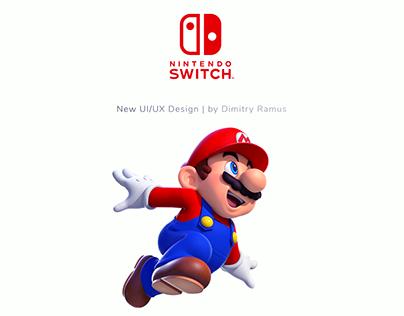 Nintendo Switch Redesign | UI/UX