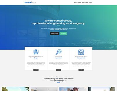 WebDesign Pumori Group