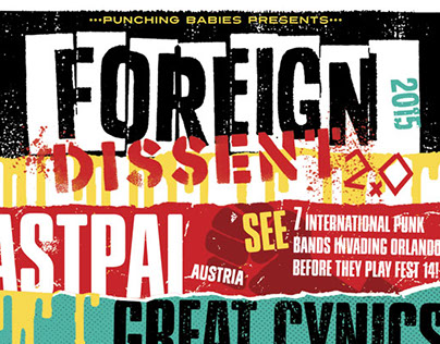 FOREIGN DISSENT 2.O: Poster, Web Graphics
