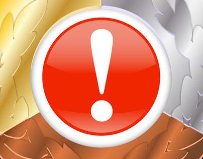 Medal Alerts iOS App Icon