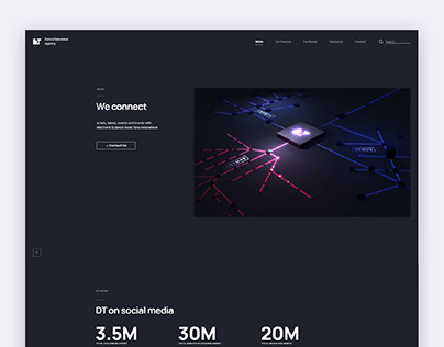 DanceTelevision Pro -Website Design