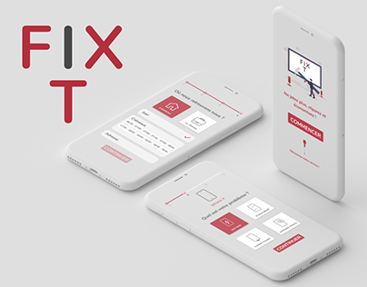 UI UX Design | FixIT App