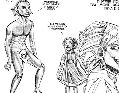 Fantasy creatures' studies