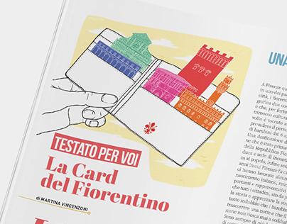La Card del Fiorentino | Lungarno Illustration Nov 2019