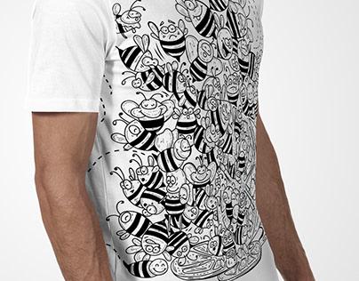 Diseño -Ilustración pedidos para camisetas
