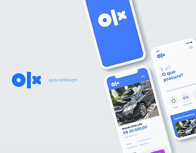 WIP - OLX Brasil App Redesign
