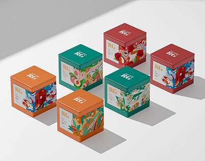 RG | RC TEA Collection Packaging Design