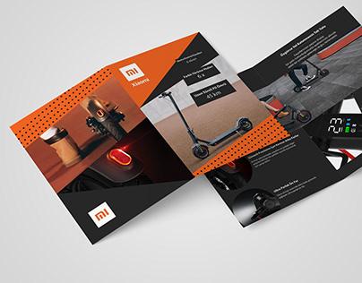 Xiaomi Brochure Design