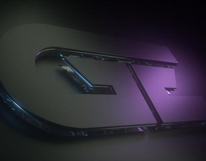 3d composition,logo