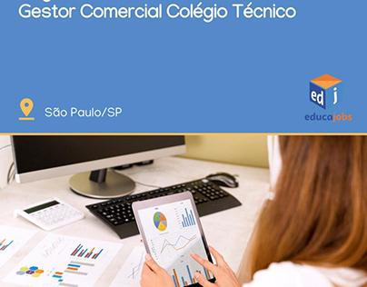 Consultor de vendas - setor educacional.