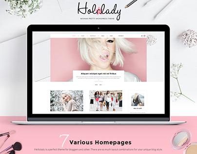 HolaLady Fashion & Lifestyle Multi-Purpose Theme