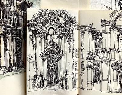 Baroque Sketchbook'21