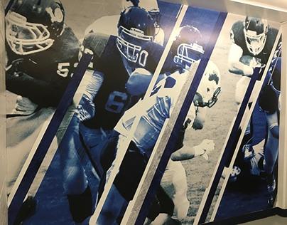 Lake Oswego Football Locker Room (Team Project)