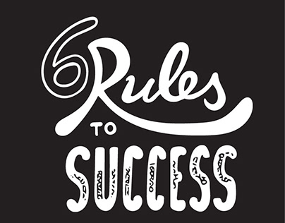 Lettering - Rules to Success