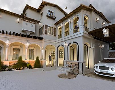 K.S.A Villa Facade