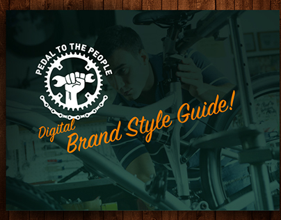 Pedal to the People | digital style guide