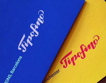 Tipofino. Logo for retail store of typographic things.
