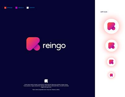 R letter logo / R logo design / R logo