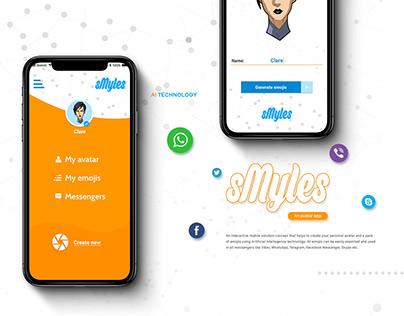 sMyles AI avatar app